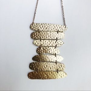 Anthropologie Gold Necklace - LIKE NEW